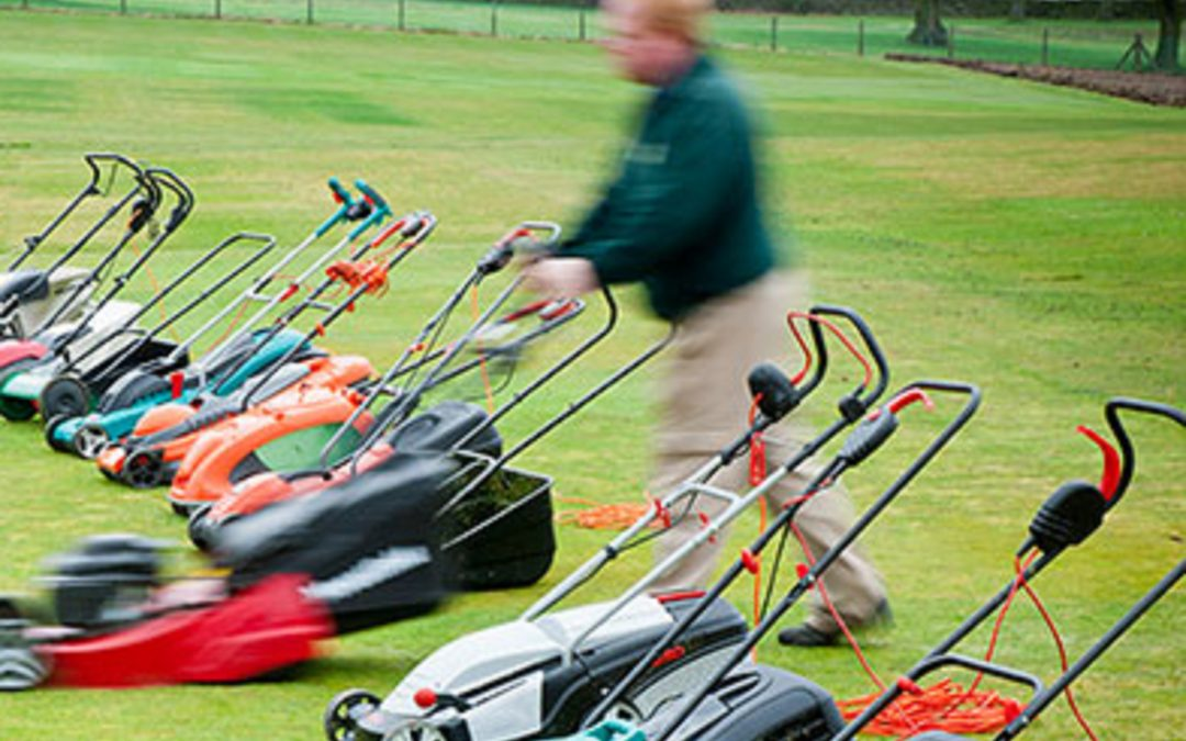 The right lawn mower for your garden